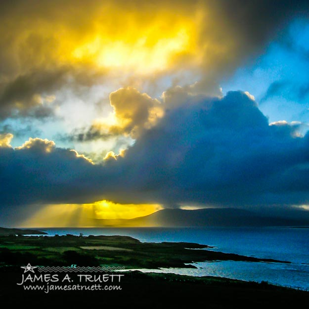 Sunrise over Ireland's Sheep's Head Peninsula in County Cork
