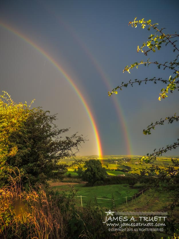 Double Rainbow Over County Clare
