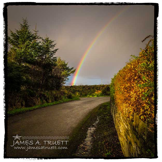 Morning Rainbow over County Clare