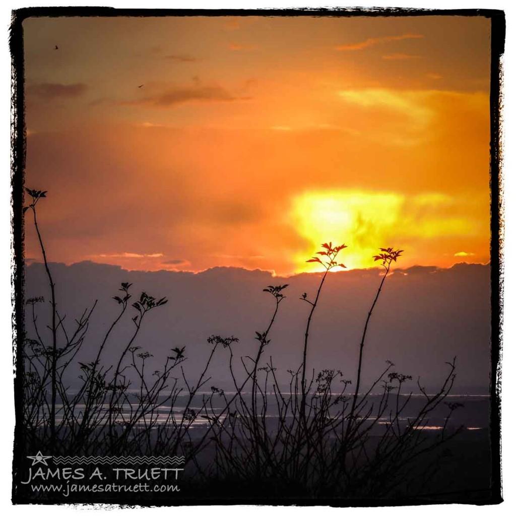 Irish Sunrise over Shannon Airport