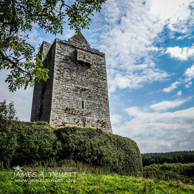 Ballinalacken Castle in Ireland's County Clare