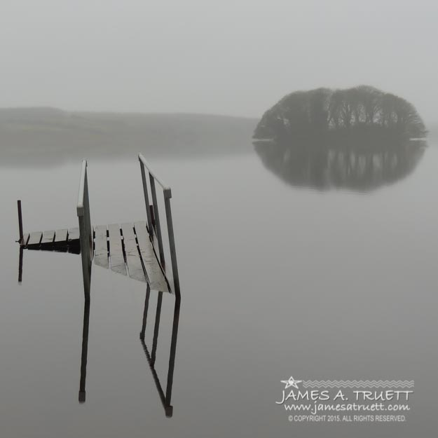 Crannog At Lake Knockalough