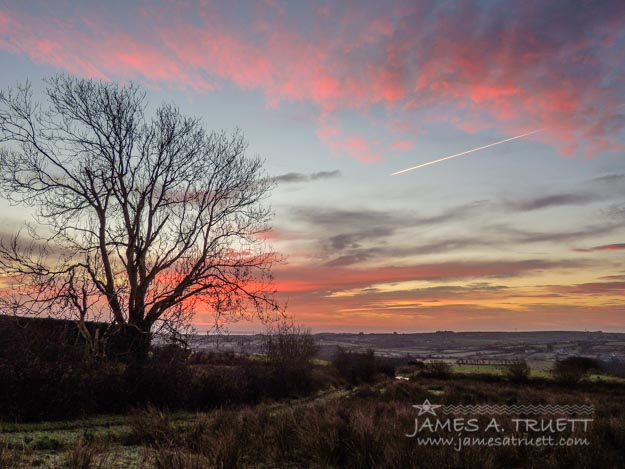 Penultimate Irish Sunrise of 2014