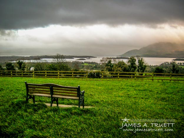 Dark Clouds over Killarney Lakes, County Kerry