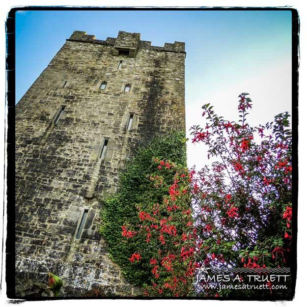 Dysert O'Dea Castle near Corofin, County Clare, Ireland