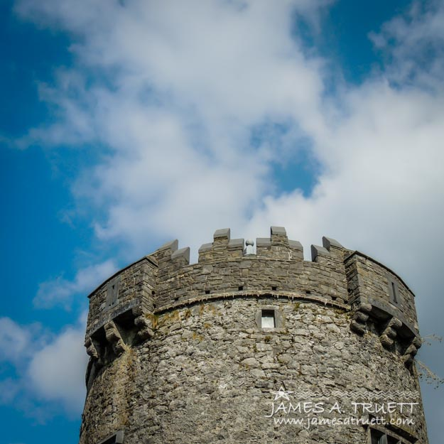 Newtown Castle Tower in Ireland's Burren Region