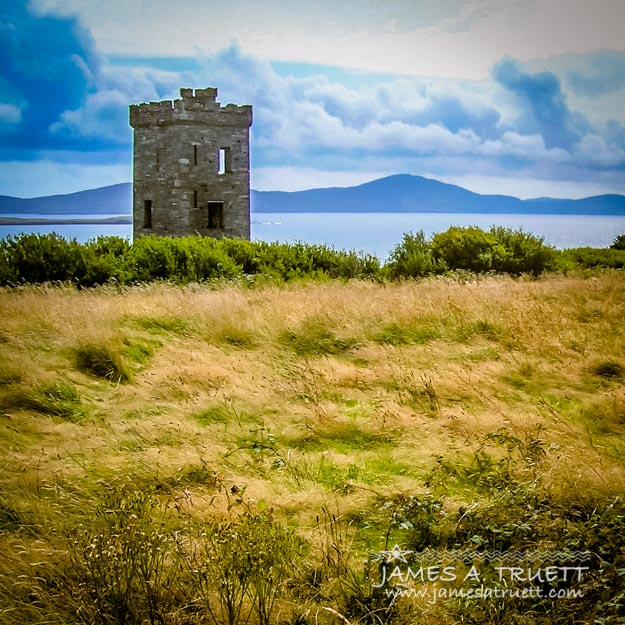 Lord Bandon's Tower in Ireland's County Cork