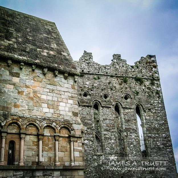 Textures of History at Ireland's Rock of Cashel