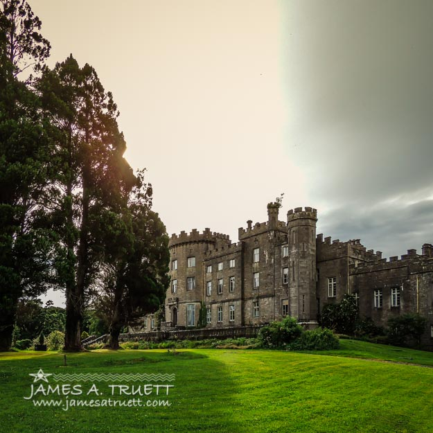 Afternoon Sun over Markree Castle