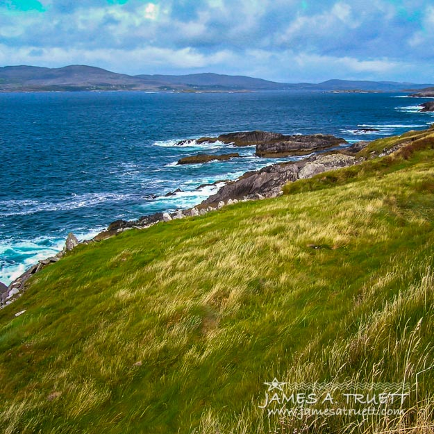 Windswept Coast of Ireland's Dunmanus Bay and Mizen Peninsula