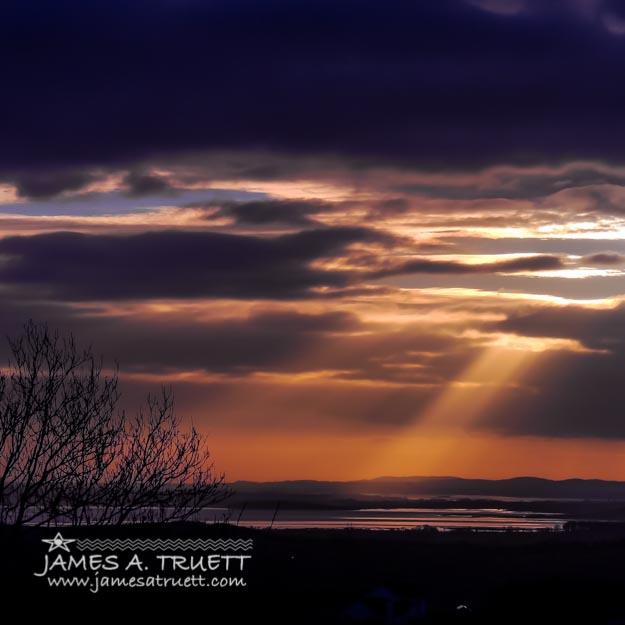 Cosmic Spotlight on Ireland's Shannon Airport