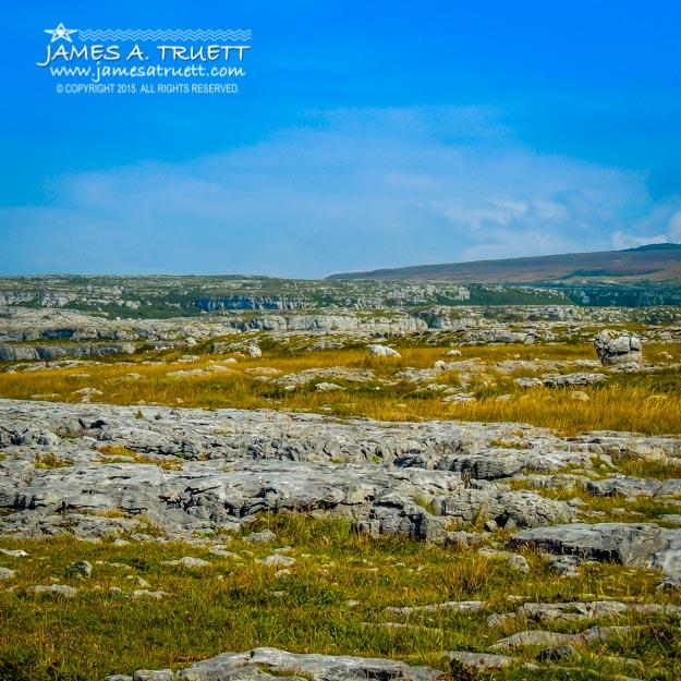 Rugged Limestone Burren Landscape