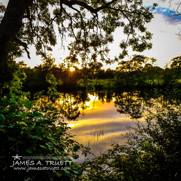 Shannon River Sunset at Roosky