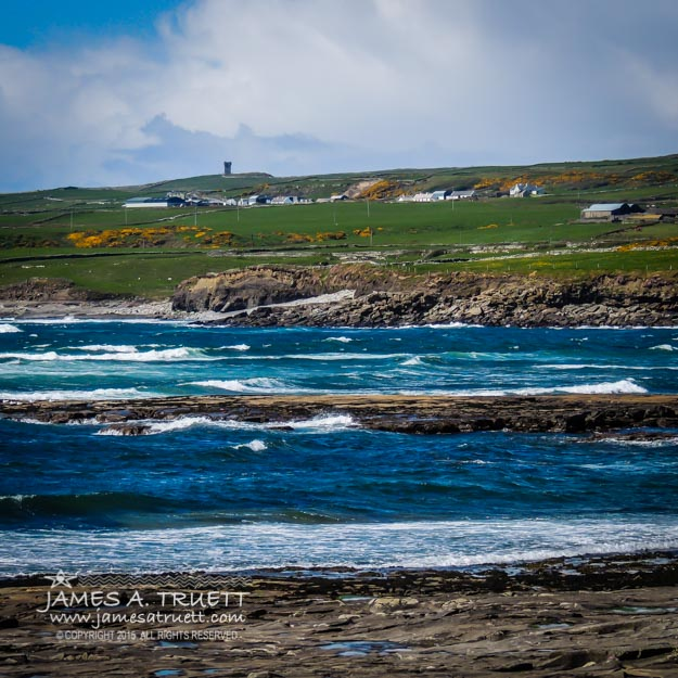 Ireland's Wild Atlantic Way near Liscannor