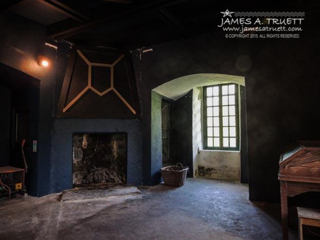 The Second Floor Living Room in Yeats' beloved Thoor Ballylee.
