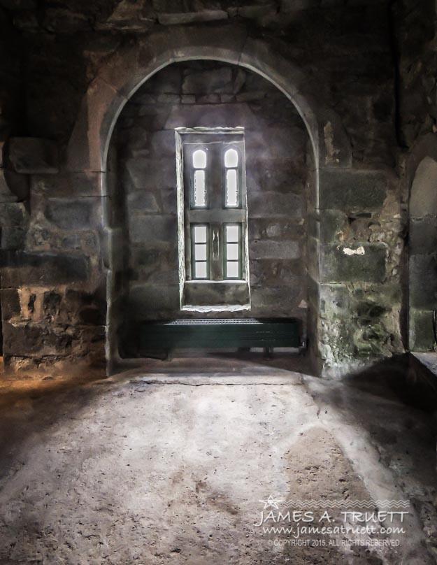 Side window at Thoor Ballylee
