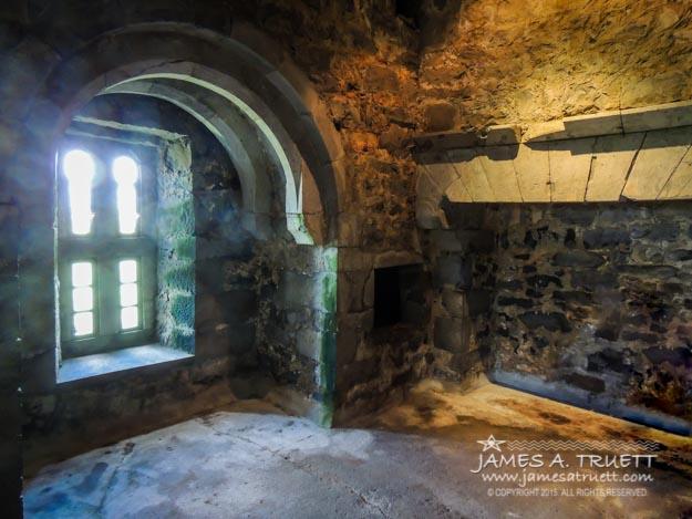Stranger's Room at Thoor Ballylee castle