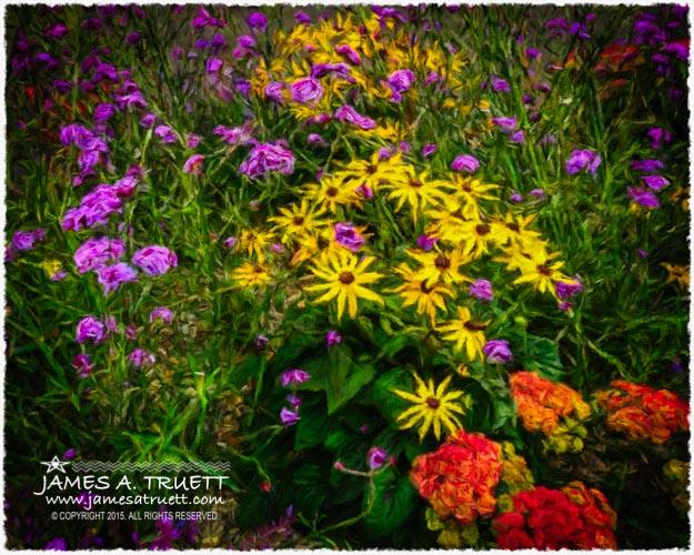 Flower Planter in Kilrush, County Clare, Ireland