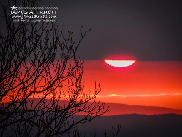 Magical Autumn Irish Sunrise
