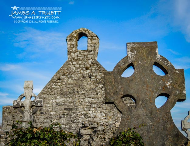Ruins at 12th Century Killone Abbey