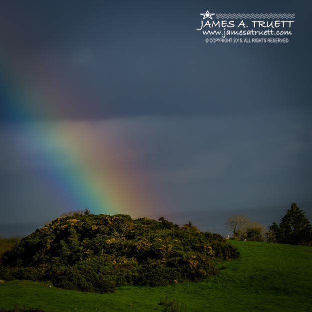 End of the Rainbow in County Clare