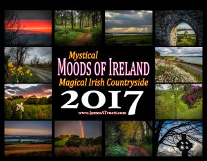 2017 Magical Irish Countryside Premium Collector's Wall Calendar