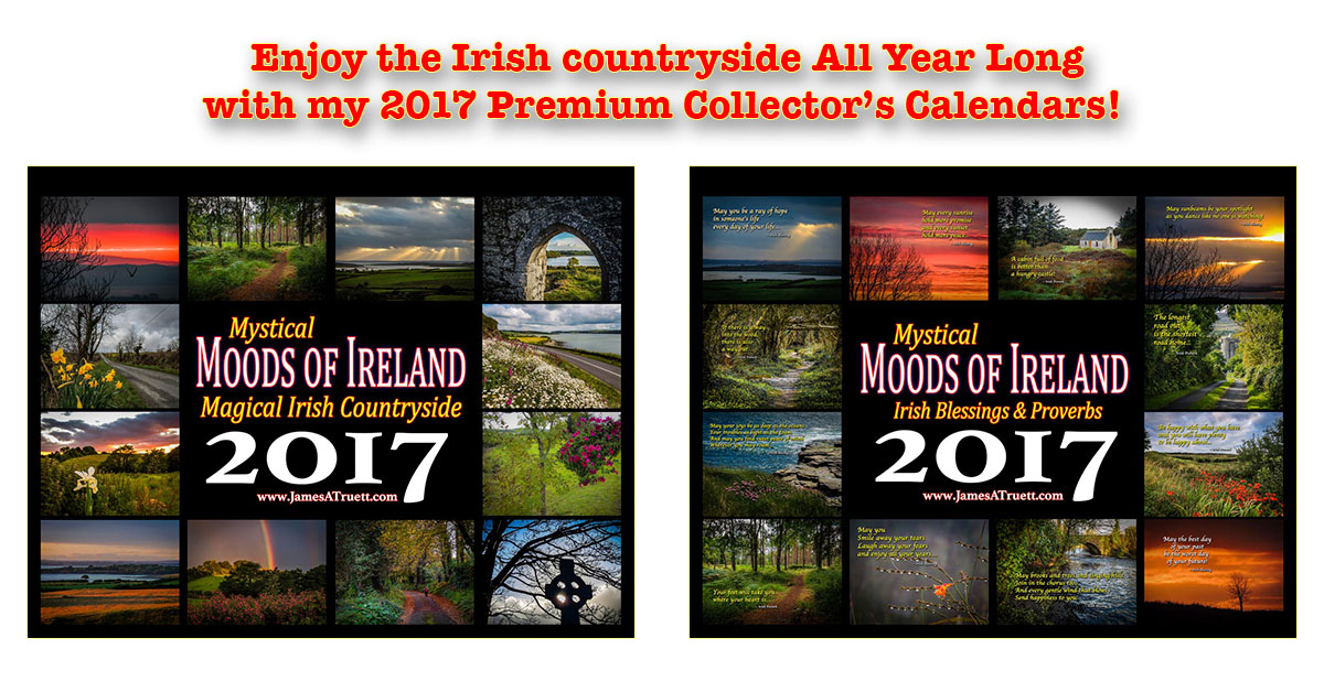 2017 Premium Moods of Ireland Collector's Calendars