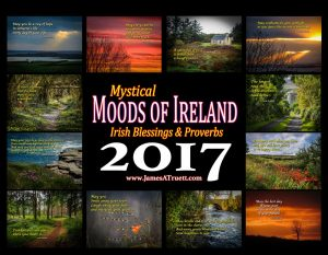 2017 Irish Blessings & Proverbs Premium Collector's Wall Calendar