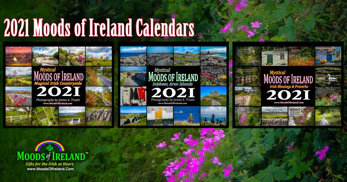2021 Moods of Ireland Calendars