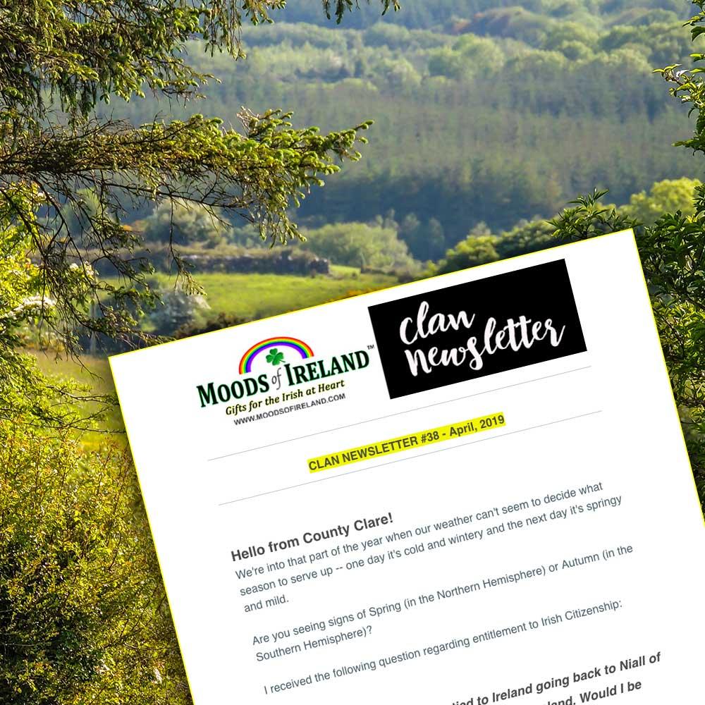 Moods of Ireland Clan Newsletter