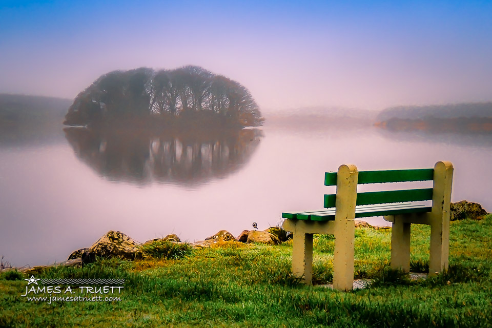 Bench at Lake Knockalough
