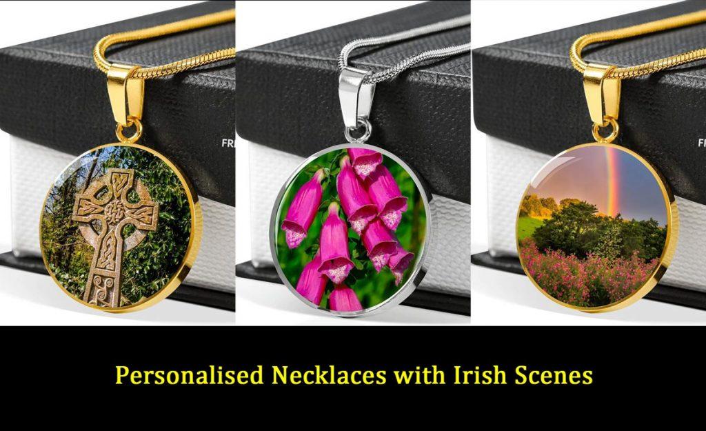 Personalised Irish Necklaces